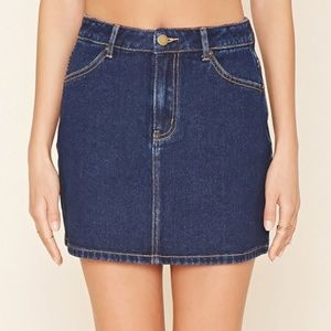 WOMENS DENIM SKIRT | Forever 21